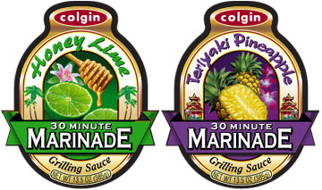 marinade label desing - graphic design